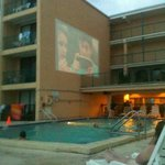poolside movie every night