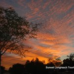 Sunset Longreach