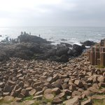 The giant's causeway - nearby