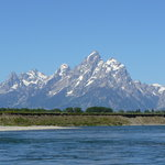Tetons from Snake River Float