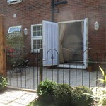 The Garden room has its own private external area