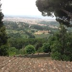View from Fiesole overlooking Florence