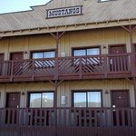 cute western theme on the outside