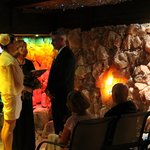 Intimate Wedding Venue inside the Salt Therapy Cave