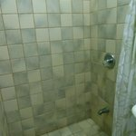 Shower in double room.