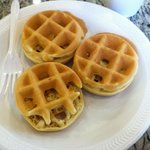 Make your own mini waffles