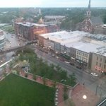 View of Triangle Park from 16th floor