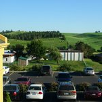 View from La Quinta--Moscow, Idaho, July 2013
