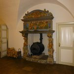 17th cent. fire place