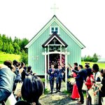 Pink Iceland organised our wedding at the cutest Icelandic church at the last min.  It was perfe