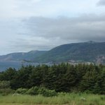 View of the Cabot Trail from the porch.