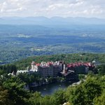 View of Mohonk House from the Tower