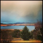 Lake Jindabyne Breakie View