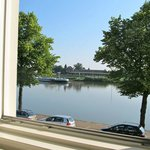 View from the window over the Ijssel River