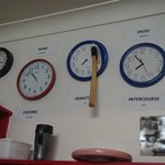 cool places clock wall
