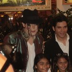 King of Pop with Elvis