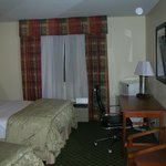 Two queen bed room at the La Quinta Inn in Lincoln, NE