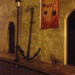 The anchor from the Santa Maria