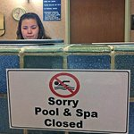 If the pool is out of order this long, stop selling it having one!