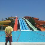 The water slides :)