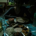 Rajasthani thali ! Awesome!!!