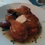 Game Hen with Truffle Oil & Truffle Butter