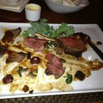 The delicious venison I had at Final Cut.