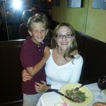 Dinner with my son at Carbonara's Trattoria