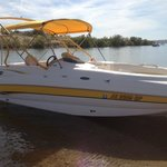 Chaparral Deck/Wake Board Boat