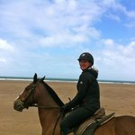 Beach gallop with Crystal