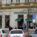 Starbucks on Wenceslas Square