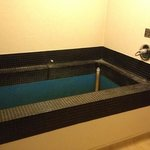 private mineral bath in my room