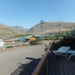 View from our deck of Hells Canyon