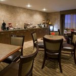 Breakfast Area - All guests receive complimentary Gourmet Express Breakfast