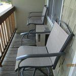 Nice Deck with Great Chairs