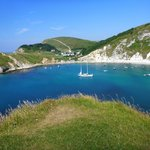 Lulworth Cove, nearby