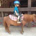 My 3 yo riding