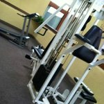 weight room (2 pieces of equipment)
