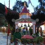 My wife in Nayna Devi Mandir