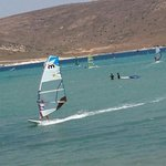 Windsurfing at Alacati beach
