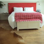 Large comfortable Red Room