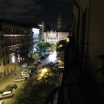 View from Balcony at night- Santa maria Maggiore