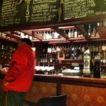 Whisky bar at The Anderson, Fortrose, Scotland