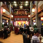 Nice traditional restaurant off main lobby