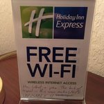 Foto de Holiday Inn Express Wallace