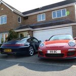 Pearfield - popular with Porsches!