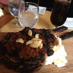 This is the best steak I ever had. We ate here at The Vault July 13th 2013.