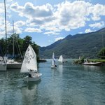 Sailing school in Dervio