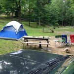 Foto di Kittatinny River Beach Campground