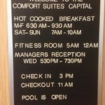 Photo de Comfort Suites North Raleigh